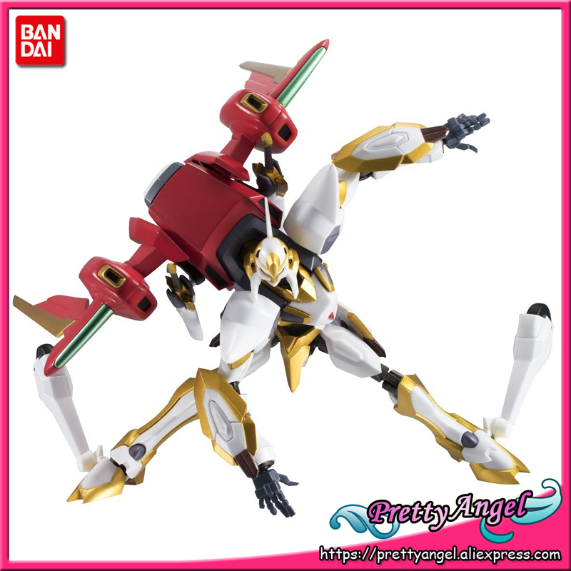 Genuine Bandai Tamashii Nations Robot Spirits No. 223 Code Geass: Lelouch of the Rebellion Lancelot Air Cavalry Action Figure цены