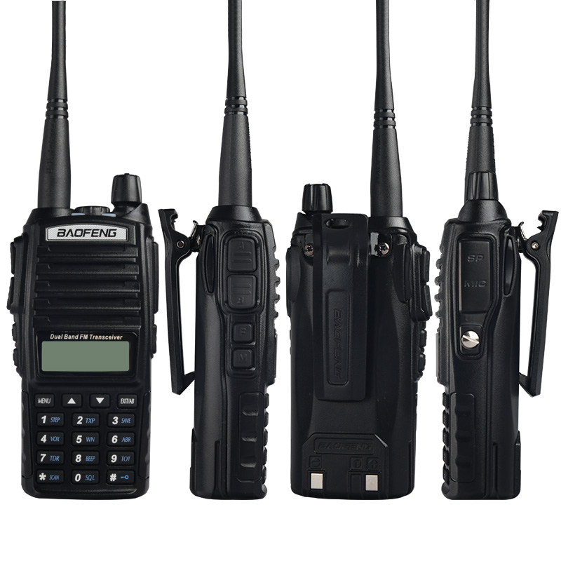 Image 3 - (4 PCS)BaoFeng UV 82 Dual Band 136 174/400 520 MHz FM Ham Two Way Radio, Transceiver, Walkie Talkie-in Walkie Talkie from Cellphones & Telecommunications