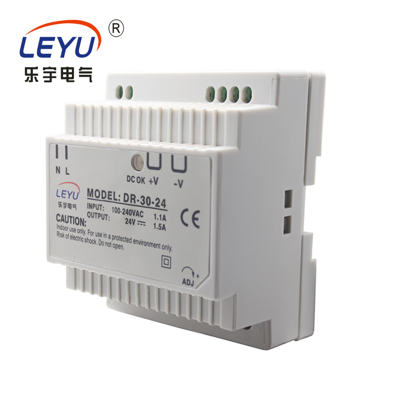 Zhejiang supplier wholesale price 30w din rail led driver series ac to dc single output 12v  switching power supply new lp2k series contactor lp2k06015 lp2k06015md lp2 k06015md 220v dc