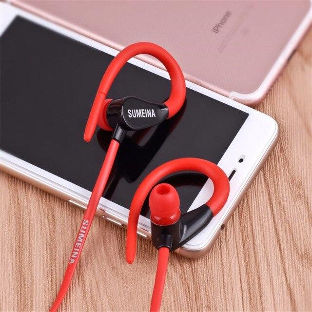 SMN-11 Earphones 3.5mm In-Ear Stereo Headset Handsfree Music Sport Earbuds With Mic for iPhone Xiaomi MP3 VS Bluetooth earphones 5