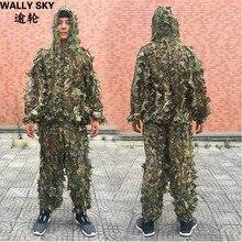 Ghillie Yowie Sniper Tactical CS 3D Bionic Kamuflaż Odzież Garnitur Camouflage Polowanie Tactical Polowanie Na Zewnątrz Ubrania Garnitury