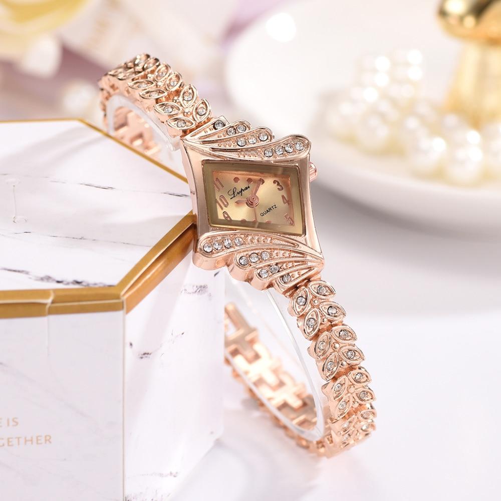 Lvpai Әйелдер уақыты Luxury Crystal Білезік - Әйелдер сағаттары - фото 2