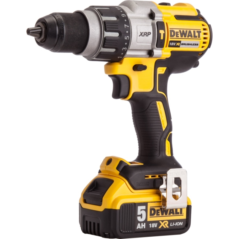Фото - Drill electric screwdriver cordless DeWalt DCD996P2 (Light work area, indicator, reverse, case) free shipping au us type touch glass light switches 1 gang 1 way ac 110 240v electric wall switch with blue led indicator