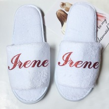 76dc77f3a9 Buy white slippers for wedding and get free shipping on AliExpress.com
