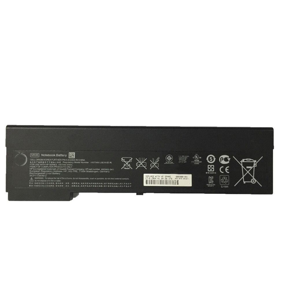 5200 mah per la batteria Del Computer Portatile HP EliteBook 2170 p MI04 HSTNN OB3L YB3L YB3M MI06 UB3W