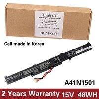 KingSener Korea Cell A41N1501 Laptop Battery For ASUS GL752JW GL752 GL752VL GL752VW N552 N552V N552VW N752