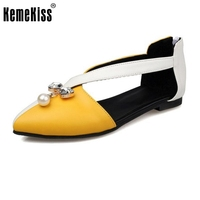 KemeKiss Size 33 43 Lady High Heel Sandals Women Bowknot Summer Shoes Patent Leather Sandals Vacation
