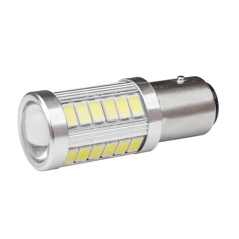1157 P21/5W BAY15D Super Bright 33 SMD 5630 5730 LED auto brake lights fog lamp 21/5w car daytime running light stop bulbs 12V