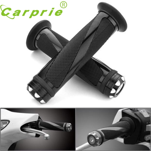 New Motorcycle Rubber Hand Grip For 7/8 22mm Handlebar Street Sport Dirt Bike NOV22