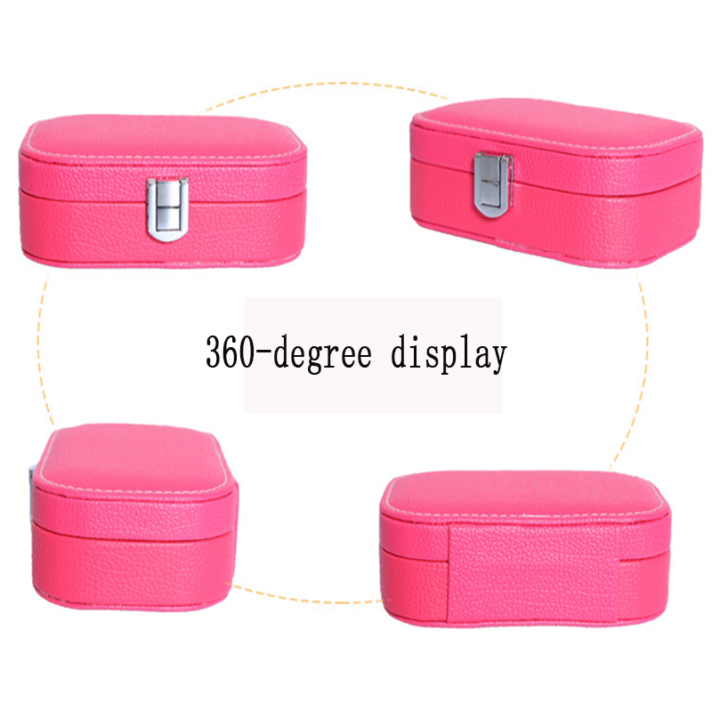 Waterproof portable makeup organizadores Fashion storage Bins for cosmetics Bead Watch jewelry box organizers of all kinds gifts