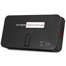Ypbpr разрешение консоли recorder захвата захват игровой hdmi пульт p hd