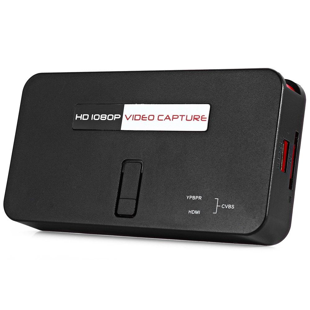 Prix pour EZCAP284 HD 1080 P Capture HDMI YPbPr Recorder Capture 1080 P Résolution Jeu USB Lecteur pour PS3 Console de Jeu avec Télécommande
