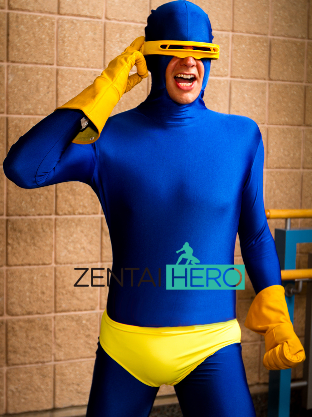 free shipping dhl 2017 adult x men cyclops costume superhero costume