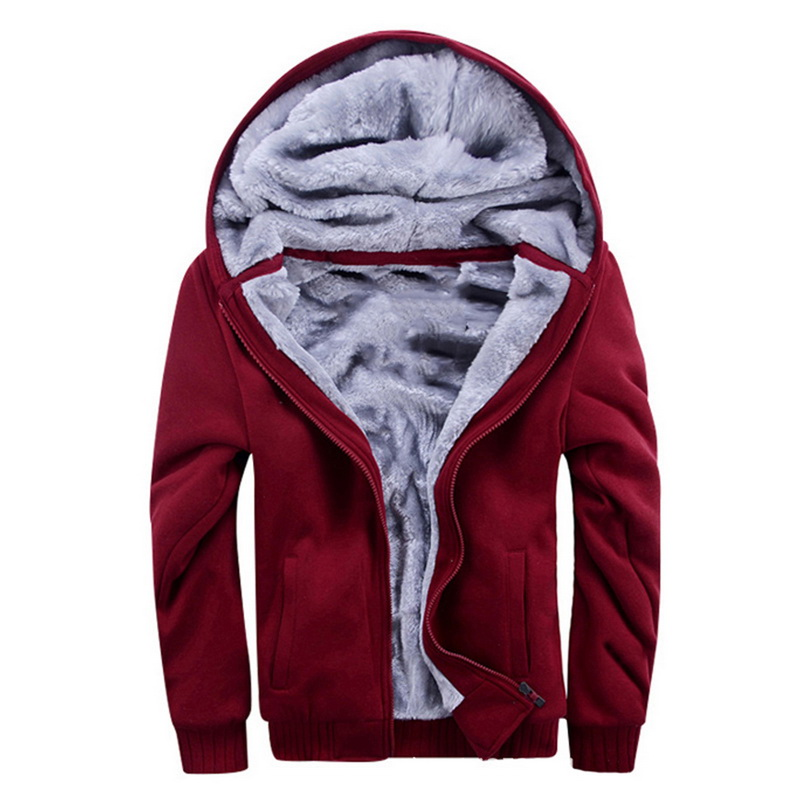 HTB1rJT aBSD3KVjSZFqq6A4bpXa4 - Oeak Mens Casual Winter Thickened Warm Coat 2019 New Casual Zipper Hooded Fleece Long Sleeve Jacket Male Solid Color Parkas