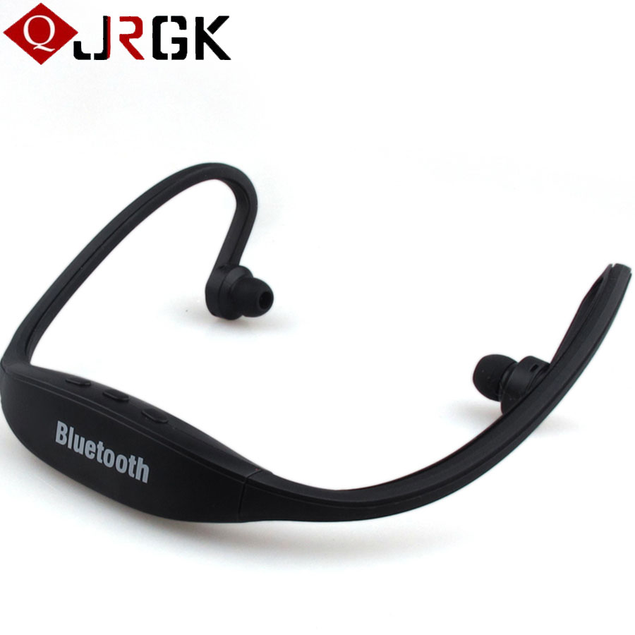 JRGK <font><b>S9</b></font> Sport Wireless <font><b>Bluetooth</b></font> Headset Handsfree <font><b>Earphone</b></font> Running Stereo <font><b>Bluetooth</b></font> Headphone For iPhone Samsung HTC With Mic image