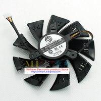 Neue Original für grafikkarte lüfter durchmesser 90mm pitch 42mm thermostat MSI PLD09210D12HH 12 V MAXIMAL