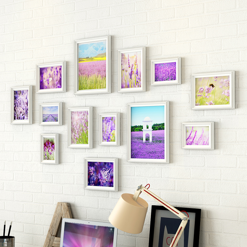 unidsset marca marcos de foto fija para el hogar decoracin de la pared