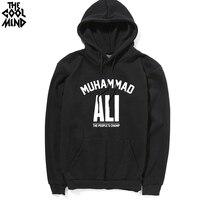 COOLMIND Top Quality Men Muhammad Ali Print Hoodies Fashion Casual Cotton Blend Mens Hoodies And Sweatshirts