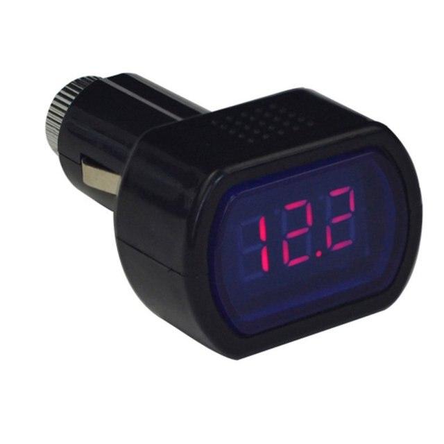 Newest Portable Digital Monitor Car Volt Voltmeter Tester LCD Cigarette Lighter Voltage Panel Meter H7