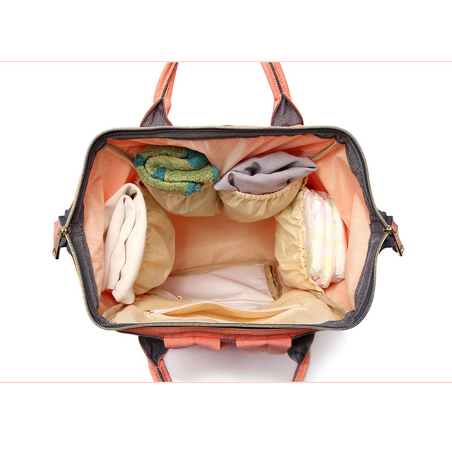 Fashion Brand Large Capacity Baby Bag Travel Backpack Designer Nursing Bag for Baby Mom Backpack Women Carry Care Bags 5