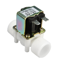 "1pc 3/4"" Electric Solenoid Valve AC 220V N/C Water Control Diverter Device Normally Closed"