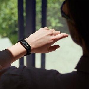 "Image 5 - Globale Version Xiaomi Mi Band 4 Smart Band 0.95 ""Farbe AMOLED Display Fitness Tracker armband Herz Rate Tracker 135mAh"