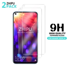 2Pcs Tempered Glass For Huawei Honor View V30 20 V20 20Pro Screen Protector 9H Tempered Glass For Huawei Honor 20i 20s 30 Lite * glass for huawei honor view 30 pro tempered glass full cover glue screen protector for huawei honor view 30 for honor v30 glass