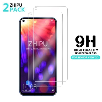 2Pcs Tempered Glass For Huawei Honor View V30 20 V20 20Pro Screen Protector 9H Tempered Glass For Huawei Honor 20i 20s 30 Lite *