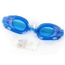 Outdoor Elastic Adult Kids Anti-fog Waterproof UV Protection Adjustable Swimming Goggles Glasses недорого