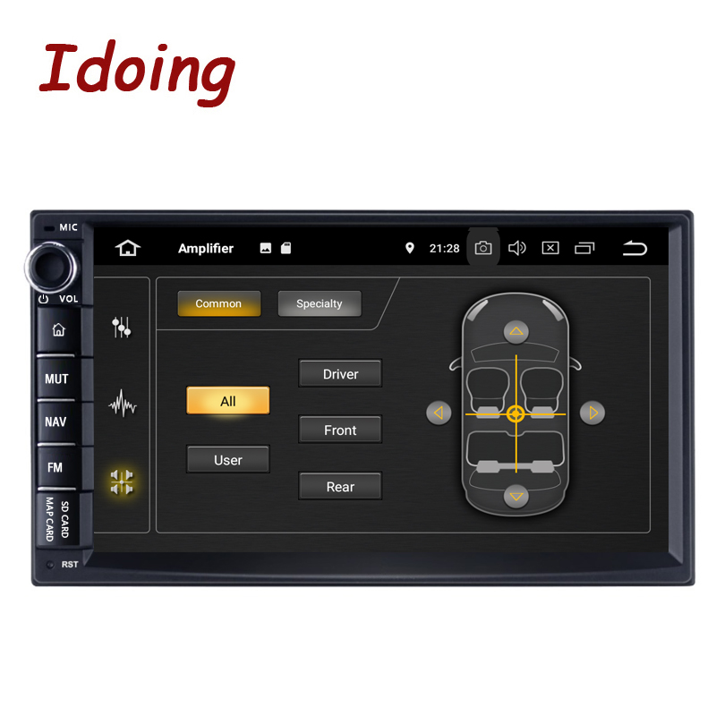 """Image 3 - Idoing 7"""" 2 Din Universal Car Android 9.0 Radio Multimedia Player PX5 4G+64G Octa Core GPS Navigation IPS DSP TDA 7850 NO DVD-in Car Multimedia Player from Automobiles & Motorcycles"""