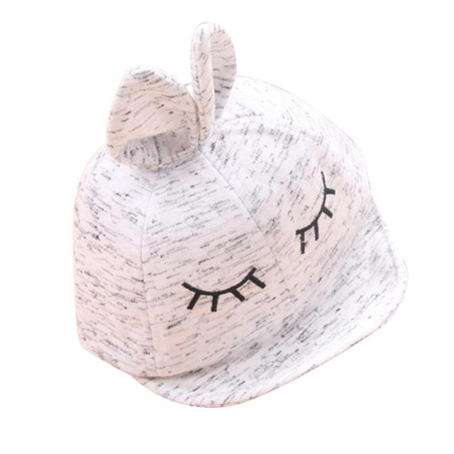 Lindo encantador del bebé sombreros de dibujos animados Beanie para ...