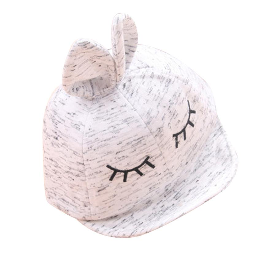 Lovely Cute Baby Hats Cartoon Beanie For Boys Girls Rabbit Ear Character Baby Boy Hat Children Hats Bonnet Enfant