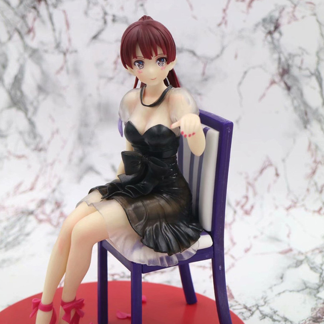 Аниме фигурка Как воспитать героиню из обычной девушки Мегуми 20 см