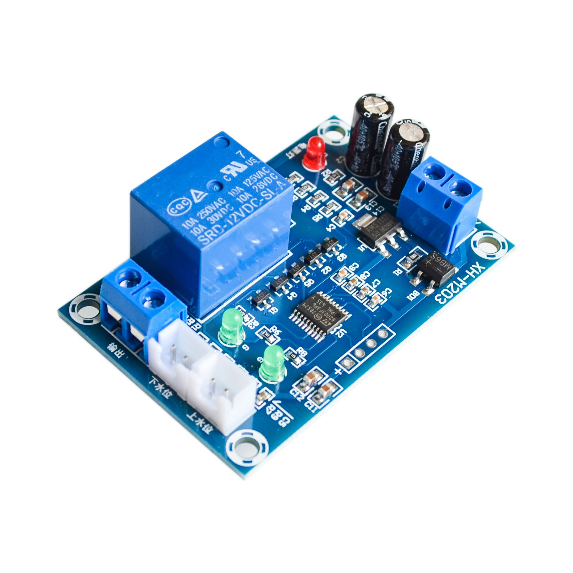 Xh M203 Water Level Controller Automatic Switch Circuit Pump In Integrated Circuits From Electronic