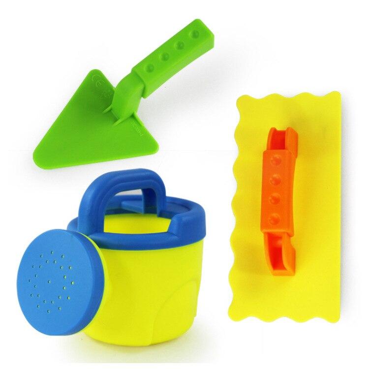 3pcs/set  Beach Toy Shovels Kids Play Sand Shovel Snow Tools Summer Seaside Dig Sand Shovel Soil Water Toys