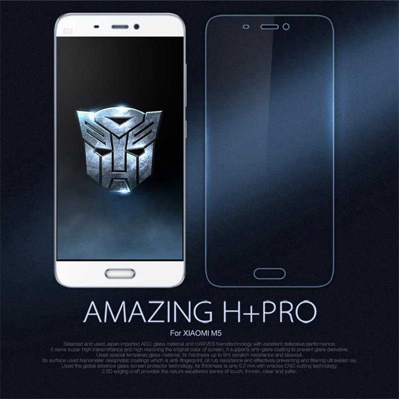 NILLKIN Amazing Xiaomi5 H+PRO 0.2mm Ultra thin 9H 2.5D Screen Protector For Xiaomi Mi 5 Mi5 M5 Pro Dual Sim Tempered Glass