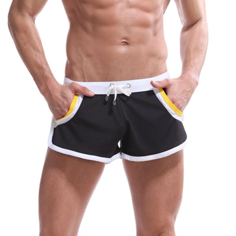 Best price Brand health sport Men <font><b>Cool</b></font> <font><b>Short</b></font> <font><b>Pants</b></font> Men Gyms Fitness <font><b>Shorts</b></font> Male Jogger Workout Beach Breechcloth boxers <font><b>short</b></font> image