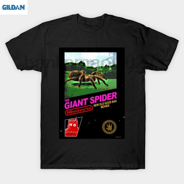 GILDAN The Giant Spider retro video game shirt T Shirt