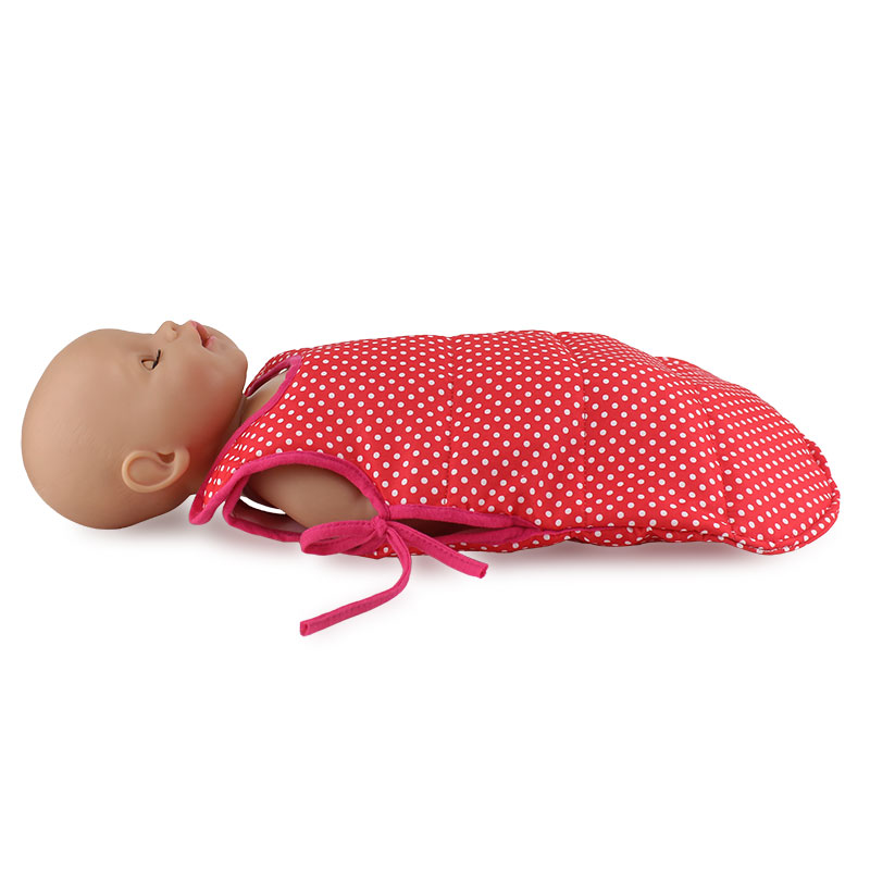 New Sleeping Bag Fit For 43cm Dolls Baby Doll Accessories