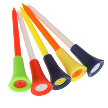 Five One Loaded Outdoor Portable Golf Nails Golf TEE Golf Double-layer Ball Studs