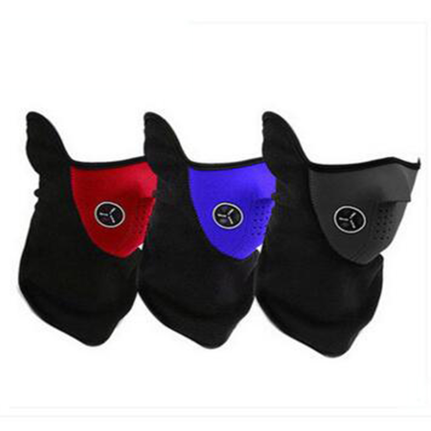 2016 High Quality Outdoor Sport Mask & Winter Ski Mask & Warm Half Face Mask For Cycling Ride bicycle outdoor Sport