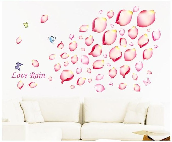 Lovely Aliexpress.com : Buy Romantic Flowers Bedroom Wall Decor Paper Furniture  Fairy Love Wall Decals