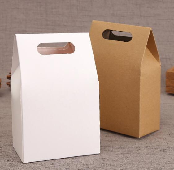 Aliexpress Whole Hot Natural Kraft Paper Bags Party Gift Ng Box Sweets Cookie Candy Nuts Bag Diy High Quality From