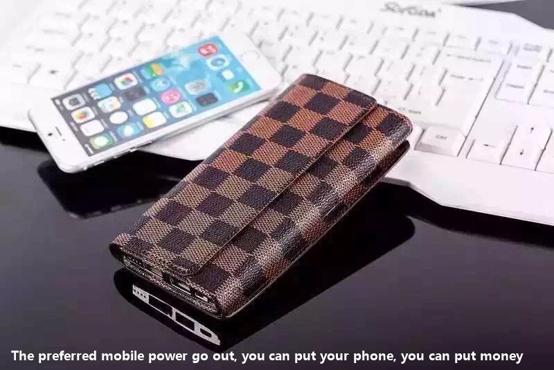 New wallet Mobile Power Bank 8000mah portable charger Battery 8000 mah (2)