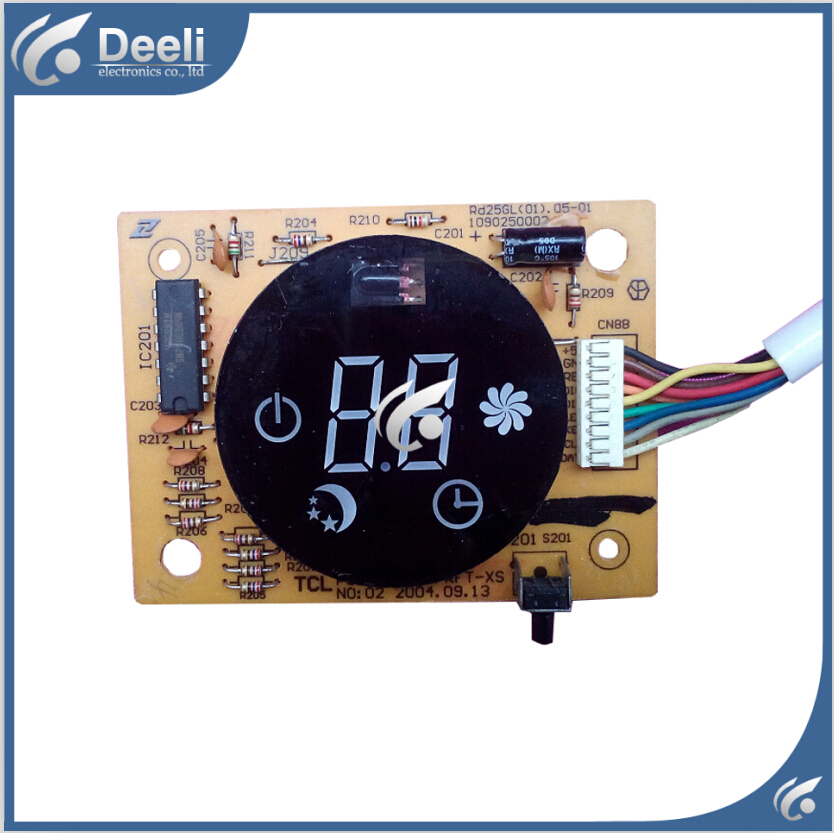95% new good working for TCL Air conditioning display board remote control receiver board plate PCB TCL32L/RFT-XS(HB) new good working for air conditioning computer board control panel universal panacea modified strip display qd u10a