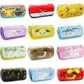 Dos desenhos animados anime estacionário Pokemon Pokeball Pikachu Eevee Vaporeon Flareon pen bag/pencil case/Caneta do bolso para Presente das crianças