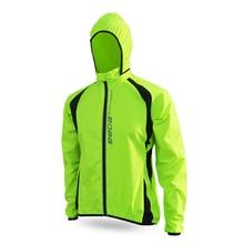 Bike Cycling Men Windproof Rain Coat Bicycle Riding Long Sleeve Wind Hooded Jackets S-XXXL