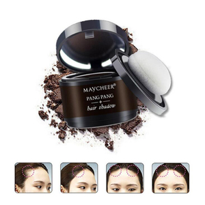 4 Color Hair Fluffy Powder Instantly Black Root Cover Up Natural Instant Hair Line Shadow Powder Hair Concealer Coverag(China)