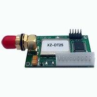 """vhf uhf משדר 433MHz מקלט אלחוטי 100mW UHF VHF RS485 RS232 הסידורי 1 ק""""מ 868mhz UART תקשורת נתונים אלחוטית (4)"""