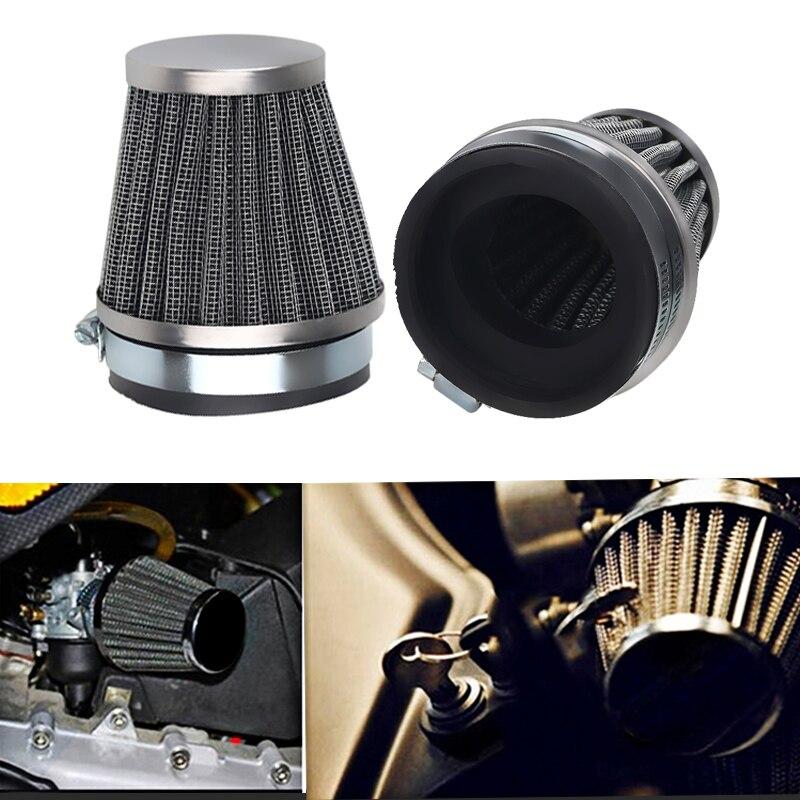 Motorcycle Air Filter Intake Cleaner Air 60mm 35mm 39mm 42mm 44mm 48mm 54mm 60mm For Honda Yamaha Kawasaki Suzuki